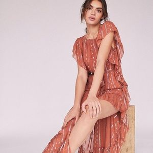 Free People Avril Maxi Dress by Saylor SZ S
